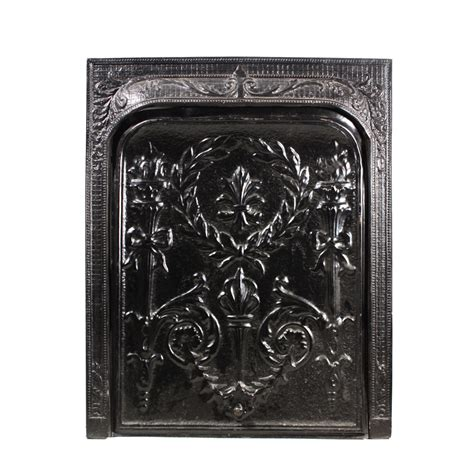 regal antique fireplace cover and surround c early 1900s