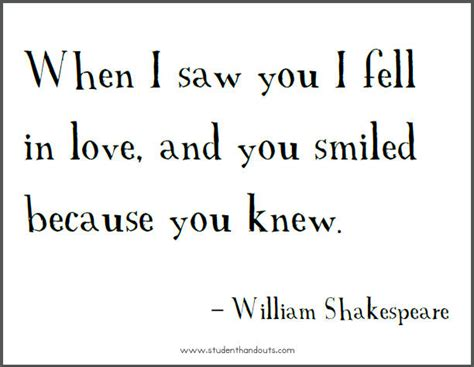 printable quotes about love william shakespeare on falling in love free printable