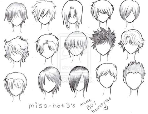 names of anime inspired hair styles 25 best ideas about anime boy hairstyles on pinterest