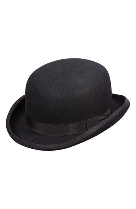 How To Make A Bowler Hat Out Of Paper - wool felt bowler hat wool gentleman and nordstrom