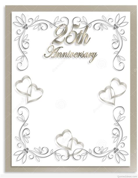 25th wedding anniversary background www imgkid the