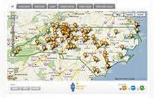 carolina wineries map 17 best images about wineries wine maps on