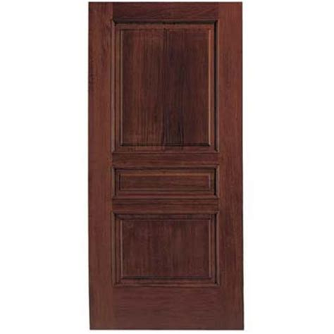 Exterior Door Finishes Door Varnish Featuring Arched Entry Door In Solid Mahogany Custom Made