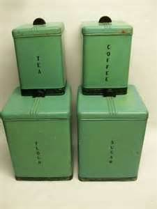 Green Deco Canister 452 best images about vintage bread box cake carriers