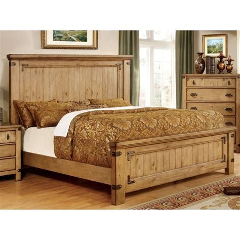 Bedroom Furniture Sets Country Furniture Of America Sesco Country 4 California King