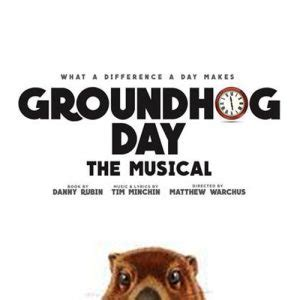 groundhog day musical lyrics groundhog day cast heads into the recording studio cast