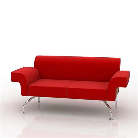 stainless steel sofa legs textile sofa with stainless steel legs 3d model