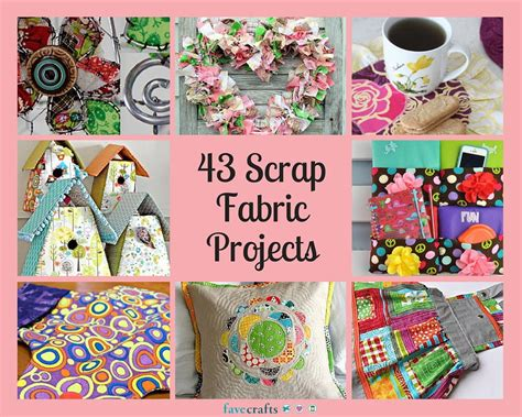 craft projects with 43 scrap fabric projects favecrafts