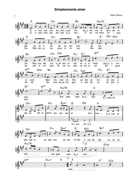 Super Partituras - Simplesmente Amor (Walmir Alencar), com