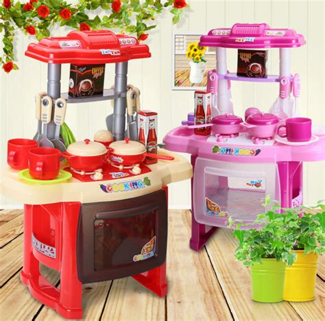 Promo Kitchen Set Koper 3 In 1 Pink Chef Mainan Masak Masakan 1 toys garden kitchen cooking play set for children and parents play