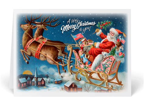Old fashioned christmas cards ministry greetings christian cards