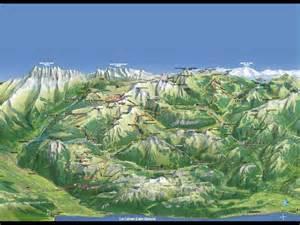 vtt portes du soleil plan des pistes de vtt et mountain