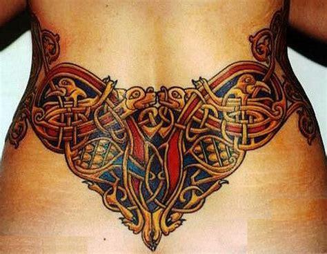 tattoo back waist celtic tattoos for women google search tattoos
