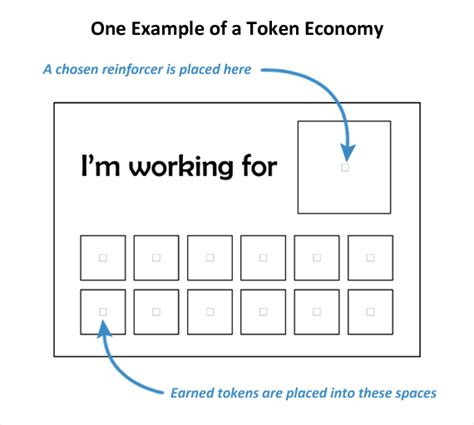 token board template token economy exle autism chart aba