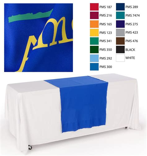 table drapes for trade shows custom table runners trade show booth drapes