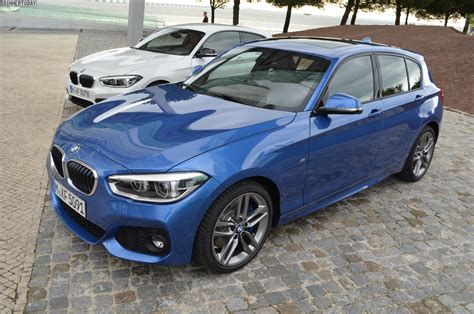 Bmw 1 Series Estoril Blue M Sport 2015 bmw 1 series facelift with m sport package in estoril
