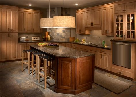 Lowes Kitchen Wall Cabinets by Maple And Cherry Kitchen Traditional Kitchen