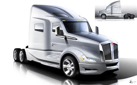 concept semi truck kenworth t680 concept theme truck design