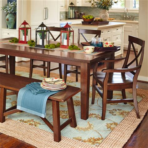 pier one dining room torrance dining set mahogany brown pier 1 imports