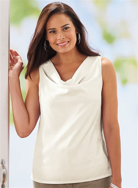 drape neck blouses drape neck blouse amerimark online catalog shopping