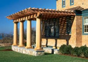 Images Of A Pergola by Pergolas Landscaped Vignettes