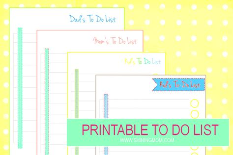printable to do list for moms plan your day ahead with these printable to do list sheets