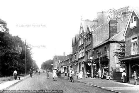 tattoo london road camberley camberley london road 1909 francis frith