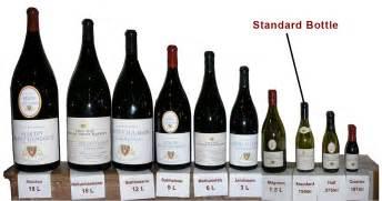 wine bottle names sizes shapes addington s style