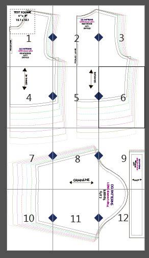 shirt pattern making tutorial pdf fully graded long sleeve t shirt for kids free sewing