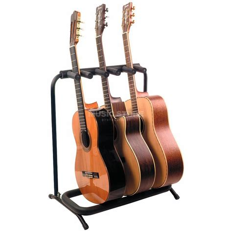 rockstand guitar stand rockstand 3er acoustic guitar rack stand rs 20870 b 2