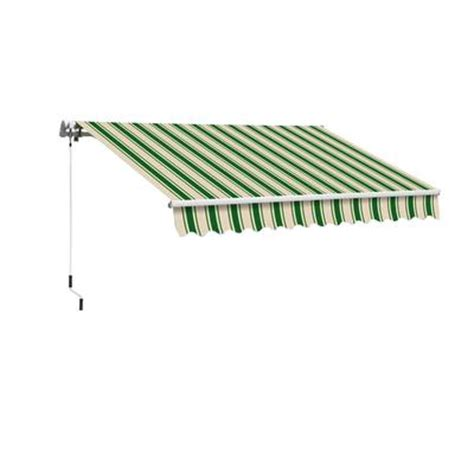 retractable awnings home depot everite manual retractable awning 8 feet x 5 feet home