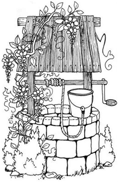 free coloring pages of water well 30 sec reading the well of madness