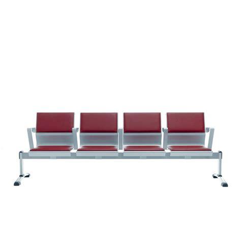 sedute per sala d attesa cluster soft panca per sala d attesa in metallo con