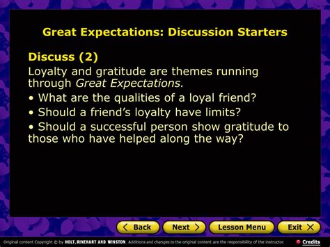 themes in great expectations chapter 1 ppt great expectations charles dickens powerpoint