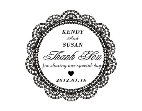 thank you rubber sts rubber st wedding invitation wedding invitation ideas