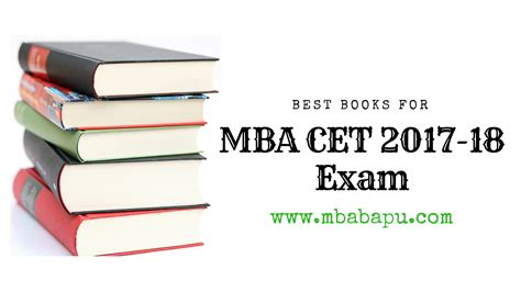 Mba Entrance Exams 2017 18 by Best Books For Mba Cet 2017 18 Mba Bapu