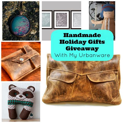 Handmade Giveaways - handmade gifts giveaway with my urbanware hello