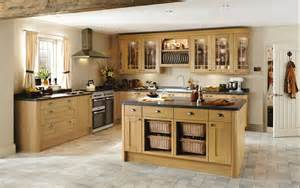 Kitchen Cabinet Door Panels tewkesbury light oak traditional kitchen from howdens