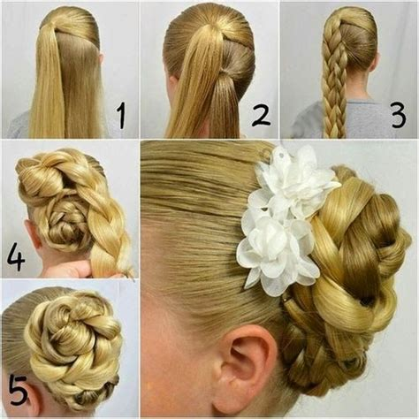 step bu step coil hairstyles canada flower hairstyles and deer on pinterest