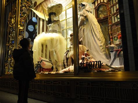 biography features display nyc department store windows evoke holiday magic ny