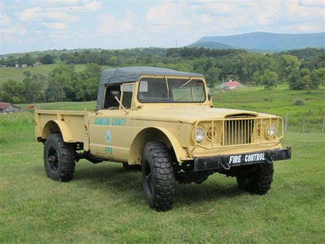 original military hummer all original jeep m715 kaiser pickup for sale