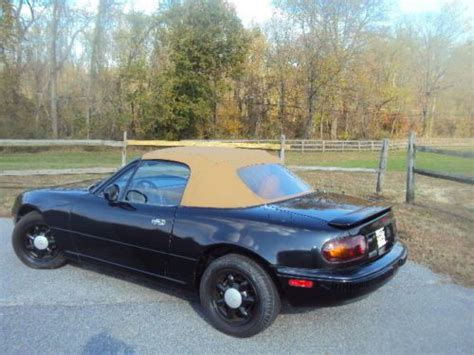 mazda convertible black find used 1993 mazda miata convertible black with