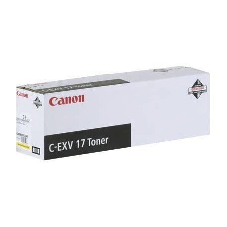 toner cyan canon c exv17 pour copieur irc4580i