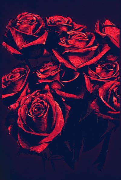 imagenes rojas tumblr illustration red roses roses ilustraci 243 n rosas rosas rojas