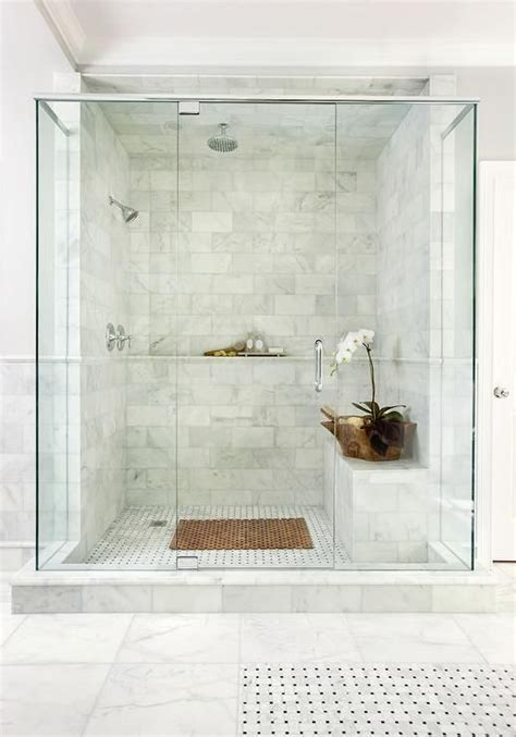 Marble Bathrooms Ideas 41 Cool And Eye Catchy Bathroom Shower Tile Ideas Digsdigs