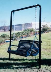 patio swings amp porch swings outdoor commercial grade metal swing dealer vmwcb6wbmodswing 6