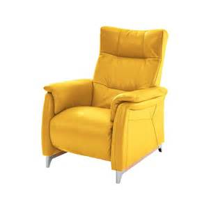 Yellow Recliner Chair El Dorado Furniture Andrea Yellow 31 Quot Power Motion Leather Recliner