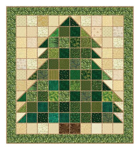 pattern for christmas tree quilt christmas rag quilt quilting pinterest