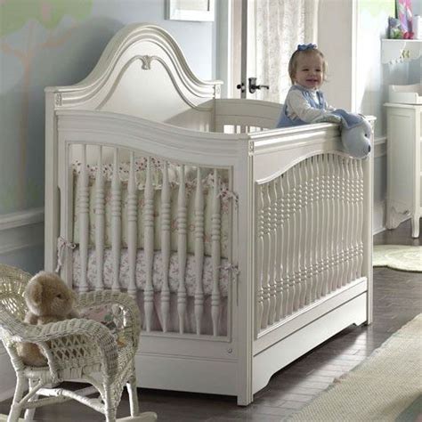baby cribs white convertible marcella convertible crib in antique white from poshtots