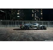 1 Lamborghini Aventador Supercars Chrome Roads Wallpaper